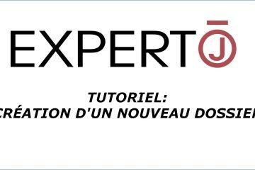 Expert.j • Tutoriel : Création d'un nouveau Dossier