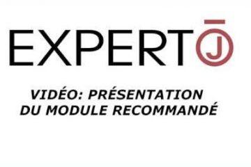 Expert.j • Vidéo : Présentation du module recommandé